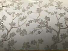 ASHLEY WILDE FABRIC...JAPANESE TREE...DOVE GREY...FIRST QUALITY