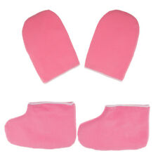 Paraffin Wax Protection SPA Hand Gloves Booties for Warmer Wax Heater Pink