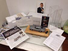 Danbury Mint James Bond Aston Martin DB5 Goldfinger Spy Car 1:24 MIB