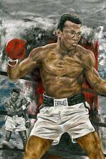 """Boxing Legend Muhammad Ali 12""""x18"""" Fine Art Print"""