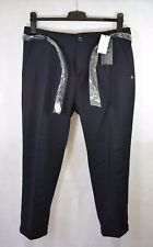 BNWT Scotch & su misura Soda misto lana corta Pantaloni Chino In Blu Scuro-UK 14 - £ 160