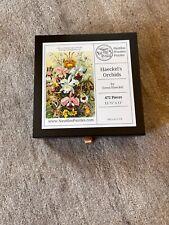 Nautilus wooden jigsaw puzzle; Haeckel's Orchids excellent condition 472 pieces