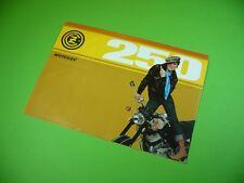 406KA2 Motorrad - Prospekt, brochure (Tschechoslowakei): ČZ 250, MOTOKOV