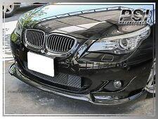 HG Style Carbon Fiber Front Lip fit BMW 04-10 E60 E61 w/ M-Tech Bumper Only