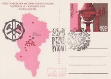 Poland postmark BYTOM - days 1978 crest