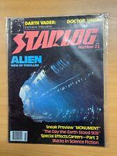 JUNE 1979 STARLOG MAGAZINE #23 ALIEN PREVIEW / DARTH VADER INTERVIEW (LL)