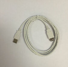 (3) USB2-3MF Hi-Speed 6 Ft Usb Extension Cable A Male To A Female White