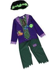 Boy Girl Halloween Frankie Frankenstein Fancy Dress Costume Baby Age 1 - 4 Years