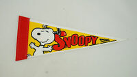 "Snoopy Wincraft Pennant Happy Snoopy Dancing 10"" long"