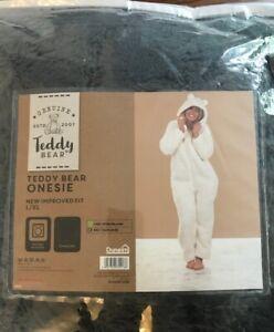 *BNWT* Trendy, snuggly Teddy Bear One Piece by Dunelm in a Size L/XL