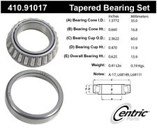 Wheel Bearing and Race Set-Premium Bearings Centric 410.91017