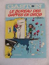 Franquin & Jidehem GASTON R2 LE BUREAU DES GAFFES EN GROS Jean Dupuis c. 1977