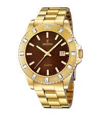 Bis 50 m (5 ATM) wasserbeständige Armbanduhren im Luxus-Stil mit Festina