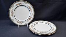 Minton England Stanwood Gold Trim - Set of 3 Dinner Plates