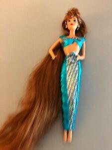 1995 Jewel Hair Mermaid Barbie MIDGE doll original outfit  90's