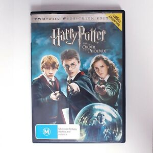 Harry Potter And The Order Of The Phoenix Movie DVD Region 4 AUS Free Postage
