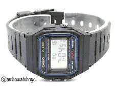 Casio F-91W Brand New Water Resistant Black Resin Unisex Watch