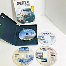 America By Rail (4 DVDs) Potomac Eagle, Southwest, Colorado, Winter Wonderland