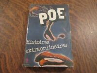 le livre de poche histoires extraordinaires - EDGAR ALLAN POE