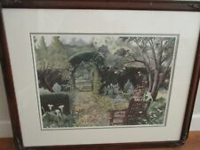 Very Rare Susan Tolle McClure 'Garden Retreat' LE and Hand signed (Print Only)