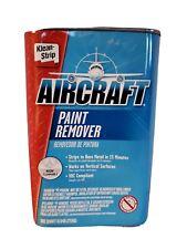 Klean-Strip Aircraft Paint Remover Non-Flammable (Quart) Qar-343(Old Formula)