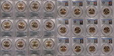 2016 P & D Presidential Dollar 12 Coin Set $1 PCGS MS67 Position A & B