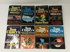 TOM CLANCY's POWER PLAY SERIES: 8 Book PB Complete Set: War Military Books