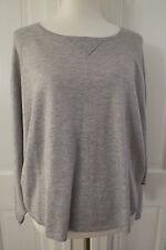 Cute Joie Knit Pullover Sweater Cashmere Blend– Heather Grey – Medium - $238