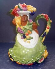 Fitz and Floyd Carioca Pitcher- 58/208- New in Box