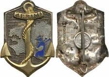 41° Régiment d'Infanterie de Marine, émail, dos guilloché, Drago 2015 (2008)