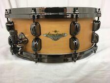 """Tama Starclassic Maple 14"""" X 5.5"""" Snare Drum/Vintage Antique Maple/MAS1455BN-VAM"""