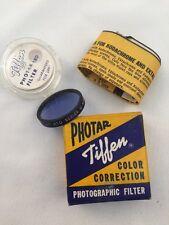 TIFFEN PHOTAR FILTER-GENUINE OPTICAL GLASS-PHOTOGRAPHIC FILTER-SERIES #5 CONV-10