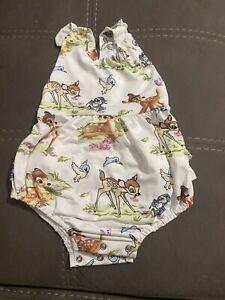 Character Bambi Kids Swim Suit Pool Beach Swimwear Summer Clothing
