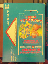 """Italian Sgorbions GARBAGE PAIL KIDS i Mitici """"Stamps"""" Full 20 Pack Box - Awesome"""