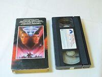 Star Trek V 5 The Final Frontier VHS Tape 1989 RARE hi fi 32044 Paramount