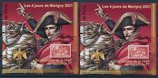 Bloc Marigny 2021** Napoléon 1er dentelé et non dentelé