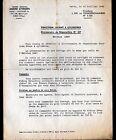 """Concessionnaire AUTOMOBILE CITROEN TRACTION AVANT """"CIRCULAIRE N°3.086"""" en 1949"""