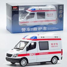 1:32 Mercedes-Benz Ambulance/Police Car Die Cast Model With Light & Sound