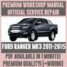 WORKSHOP MANUAL SERVICE & REPAIR GUIDE for FORD RANGER MK3 2011-2015 +WIRING