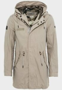 Camel Active size GB44/R measured parka style hooded coat jacket 199.95 € tag