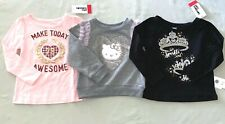Girls Size 2 2t Hello Kitty Sweatshirt / Epic Threads Shirt Lot of 3 Nwt