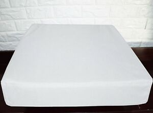 PL16t White Specialist Water Proof Outdoor Box Seat Cushion Cover*Custom Size
