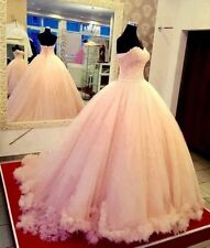 Custom Beaded Quinceanera Formal Dress Ball Gown Prom Party Wedding Dresses NEW