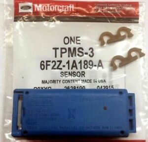 New Motorcraft TPMS-3 Remote Tire Pressure Monitor In Genuine Ford Package TPMS3