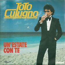 """Toto Cutugno - Un'estate con te (7"""") 1983 FRANCE"""