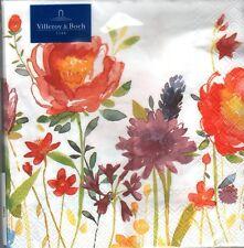 20 Servietten Anmut Flowers Villeroy & Boch 33x33 oder 25x25