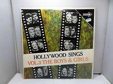 HOLLYWOOD SINGS VOL 3 THE BOYS & GIRLS COTAL CPO98 LPs VINYL