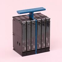 Vintage Genuine SONY S-box Cassette Tape Storage Box [Holds 6 Tapes]