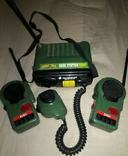 Combat Force Rangers Base Station Walkie Talkies Toy Vintage Collectible
