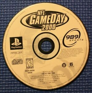 Sony Playstation Disc Only Game: NFL GameDay 2000